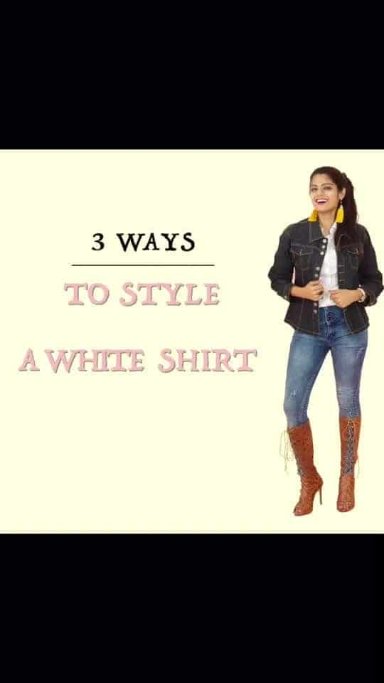 Here's for the ones to master the white shirt like a pro. Learn 3 new smart ways to rock the white shirt. 😄 Also, you can shop all these looks on the Marsplay app.♥️ . . In frame: @stutigupta71  . . #fashion #style #videos #fashionvideos #delhifashionblogger #fashionblogger #indianfashionblogger #marsplay #styletips #fashiontips #instafashion #instadaily #instavideo #instapost