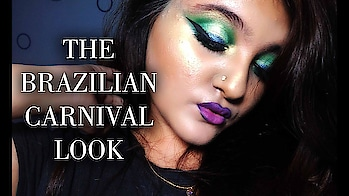 TAKE ME TO BRAZIL | FIFA WORLD CUP 2018 | INSPIRATION MAKEUP TUTORIAL | ABHIRUPA LAHA  #carnival #brazil #kolkatavlogger #indian #pretty #nyxcosmeticsindia #shade-lakme #bengali #brazilian #eye-makeup #tutoring #maybellineindia #mibprofessional  #fifaworldcup2018 #pitbull #weareone