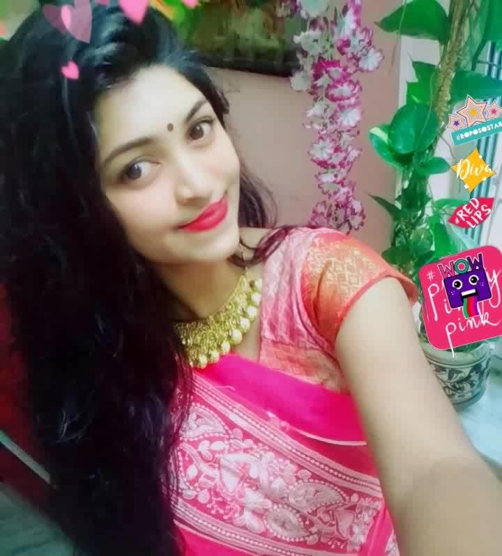 #roposoonair #roposo-fashiondiaries #fashiondiaries #fashionstuck #fashionfreak #fashiondiaries #lookgoogfeelgood #roposo9#wow #prettygirl #beautifulbeing #sexypink #pink #gorgeousgirl #sexyblogger #sexylook #traditionalwear #saree #traditionallook #bindilove #cuteness-overloaded #girlpower #wild #crazy #happydays #happiness #photoshoot #wow #roposostar #redlips #diva #prettyinpink