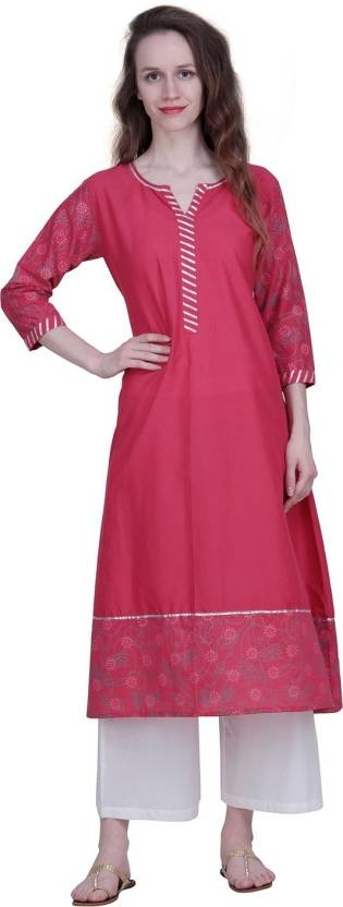 An amazing range of women Kurti in soft and solid colors that looks perfect for regular wear. With beautiful designs and patterns, these apparels are very stylish and comfortable too. Get rid of the 'regular' look this season wearing this kurti by The Kala Shop.  https://bit.ly/2lMlX75  #womenkurti #ladykurti #palazzo #palazzoset #womenkurta
