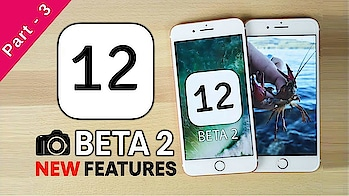 Apple releases beta 2 for iOS 12 | Notable new features in iOS 12 beta 2 in Hindi 2018 #technovedant