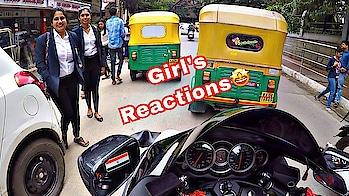 HAYABUSA COLLEGE GIRLS REACTIONS    BANGALORE