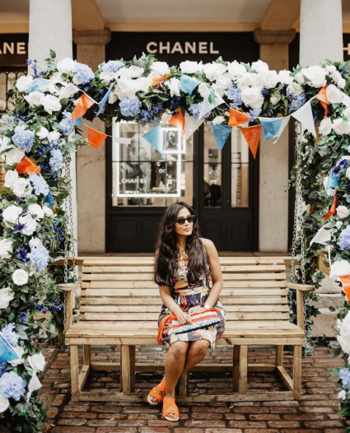 Summer Printed Dress  #printedress #floralprints #prints #summer-style #summers #summeroutfit #summerseason #statementbag #statement #shades #blackshades #fashionblogger #indianfashioblogger #travelblogger #ukblogger #fashionblogger #beautyblogger #roposo-fashiondiaries #roposofashionblogger #roposofashion #ropo-fashion #ropo-style #ropo-love #ropo-girl