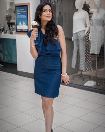One Shoulder Dress  #oneshoulder #oneshoulderdress #bluedress #oneshoulderoutfit #blueoutfit #icecream #icecreamseason #icecreamlove #summer #summerseason #summer-style #summer-fashion #indianfashionblogger #fashionblogger #travelblogger #ukblogger #ropo-fashion #ropo-style #ropo-love #ropo-beauty #roposofashionblogger #roposofashiondiaries #roposfashion
