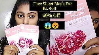 Face sheet mask just for Rs. 40!! 60% off.  #lavishkajain #lavishfam #facesheetmask #thefaceshop #thefaceshopindia #affordablesheetmask #ytindia #yt #ytcreatorsindia #ytcreator #indianyoutuber