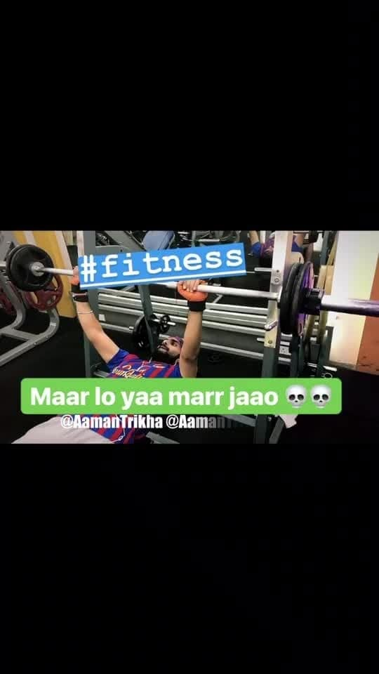 The Fitness Star, RockStar @AamanTrikha .. 🏋🏻‍♂️ #ProudOfYouRockStar 🙌🏻 #fitspiration #AamanTrikha  #instafit #motivation #fit #fitness #gymlife #fitnessmotivation #flex #instafitness #trainhard #nopainnogain #grow #focus #dedication #strength #ripped #swole #fitnessgear #legs #shredded #muscles #fitnessjourney #sweat #grind #lifestyle #gratitude #20likes