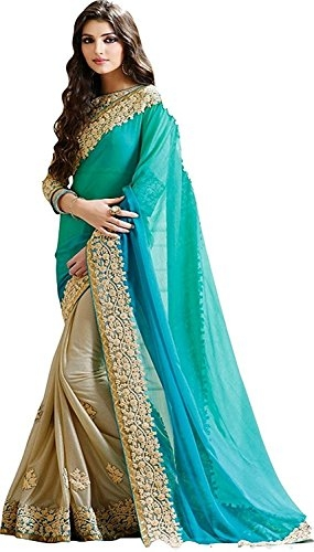 Fabdiamond Georgette #Saree With #Blouse Piece @ Rs.999. Buy Now at http://bit.ly/2JdsmS9