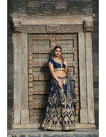 From the House of Pushp Paridhan Soft and comfortable fabric of this Lehenga,The Fabric Is Very Soft To Touch And Fits Perfectly. 2. Look simply beautiful on your family functions and social gathering wearing this solid Golden & Blue Lehenga. 3. Design Style And Pattern Could Be On The Peak Of Your Beauty As Soon As You Attire This Bridal Lehenga. 4. This Bridal Lehenga Embroidered Stitched Lehenga for women is Ideal for Party Wear, Festival Wear, Ceremony Wear,Wedding Wear. 5. Product Color May Slightly Vary Due To Photographic Lighting Or Your Screen Settings #ethnicwear #Indianwomenwear #dulhanlanhga #beautifulwomendress #partyweardress #bridallanhga  https://bit.ly/2kLdMY4