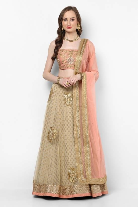 From the House of Pushp Paridhan Soft and comfortable fabric of this Lehenga,The Fabric Is Very Soft To Touch And Fits Perfectly. 2. Look simply beautiful on your family functions and social gathering wearing this solid Golden & Blue Lehenga. 3. Design Style And Pattern Could Be On The Peak Of Your Beauty As Soon As You Attire This Bridal Lehenga. 4. This Bridal Lehenga Embroidered Stitched Lehenga for women is Ideal for Party Wear, Festival Wear, Ceremony Wear,Wedding Wear. 5. Product Color May Slightly Vary Due To Photographic Lighting Or Your Screen Settings #ethnicwear #Indianwomenwear #dulhanlanhga #beautifulwomendress #partyweardress #bridallanhga   Buy now:- https://bit.ly/2KSThYU