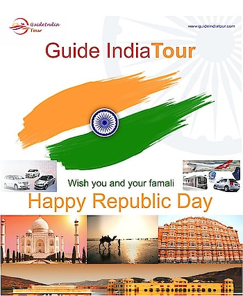Guide India Tour with you all Happy Republic Day #happyrepublicday #holiday #holidayseason #republicday #guideindiatour #happy