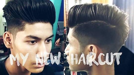 MY NEW HAIRCUT !!🔥😱 | The Modern Quiff Hairstyle | Best Haircut for Indian Mens/Boys
