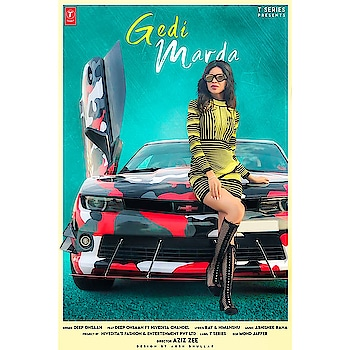My new song gedi marda coming soon  #song#gedimarda#tseries #niveditasfashion #niveditachandel #niveditachandelmodel #deepohsaan