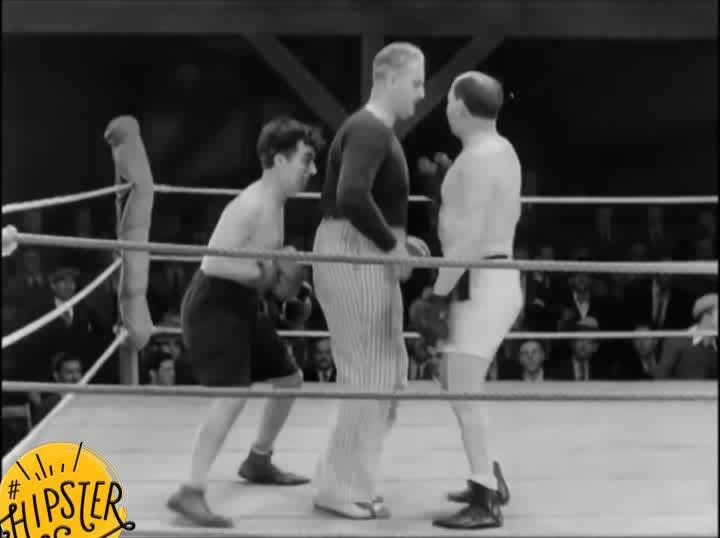 boxing Chaplin #hipster