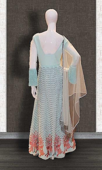 Blue Georgette Designer Anarkali Suit http://www.khojkaladesign.com/party-wear-suits/blue-georgette-designer-anarkali-suit.html  • Designer Party Wear Salwar Kameez • Fabric : Georgette • Dupatta Fabric : Net • Inner/Bottom Fabric : Shantoon • Size : Stitched (customizable Upto size-44)  SKU: KHOJ7281 ₹14,280   #womenfashion #indianwomen #ethnics #fashion #salwarkameez #mydress #womenfashion #weddingsuitsdesigner #designersuits  #salwarkameez #casualsuit #straightsuit #anarkali #sharara #lehenga #casualwearsalwarkameez #Casualsalwarkameez #Partysalwarkameez #summer_fashion #summer #designerwear #partywears #heavyembroideredsuits #wedding #marriage #ceremony #bridaldresses #instastyle #khojkala