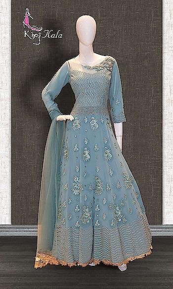 Blue Georgette Anarkali Suit http://www.khojkaladesign.com/bollywood-style/blue-georgette-anarkali-suit-17293.html  • Designer Wear Salwar Kameez Suit • Fabric : Georgette • Dupatta Fabric : Net • Inner/Bottom Fabric : Shantoon • Size : Stitched (customizable Upto size-44) Availability: In stock  SKU: KHOJ7273 ₹9,604  #womenfashion #indianwomen #ethnics #fashion #salwarkameez #mydress #womenfashion #weddingsuitsdesigner #designersuits  #salwarkameez #casualsuit #straightsuit #anarkali #sharara #lehenga #casualwearsalwarkameez #Casualsalwarkameez #Partysalwarkameez #summer_fashion #summer #designerwear #partywears #heavyembroideredsuits #wedding #marriage #ceremony #bridaldresses #instastyle #khojkala