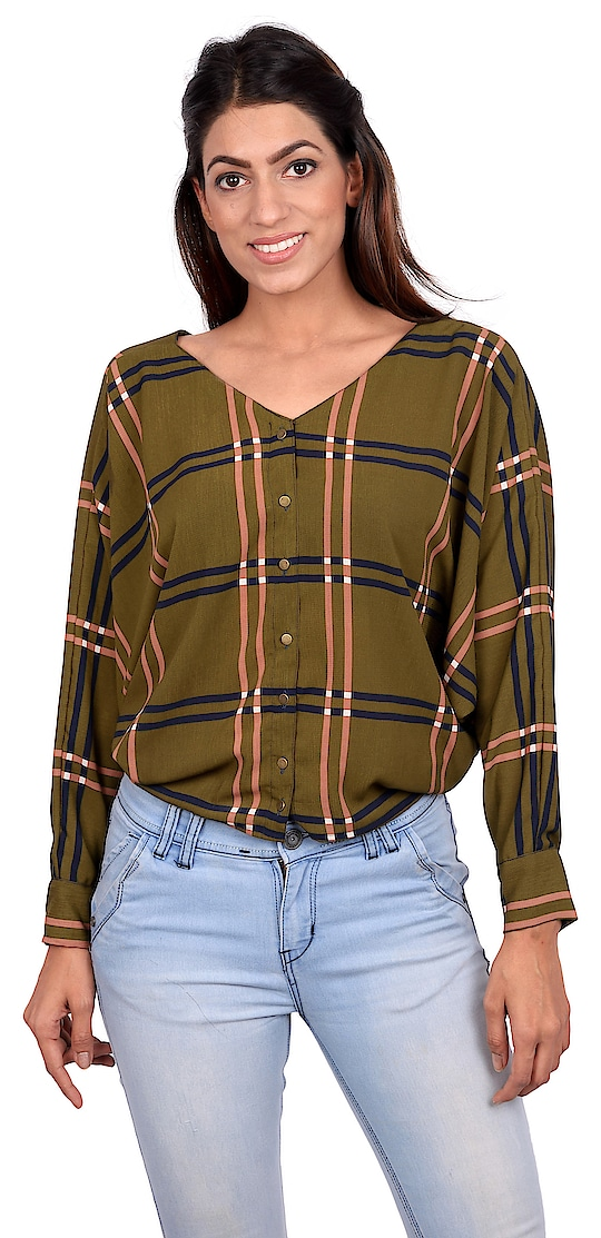 Beauty, elegance and comfort are a hallmark of our creations. This top with buttoned up front and pack stitched in a high quality fabric can be worn on weekdays and weekends as well. Wear it on a holiday or on a birthday, the compliments will surely make your day.  Click on chat to buy button to buy this shirt.  #tagwithtog #needsnooccassion #fashionforbillion #fashiondesigner #fashionfreak #fashionblogger #mumbaifashionbloger #casual #casualwear #casualwearfashion #casuallook #casualdress #womenswear #women-fashion #women #women-branded-shopping #women-style #womens-fashion #casualweardaily #dailywear #casuals #casualoutfit #westernwear #womenwesternwear #staytuned #stayupdated