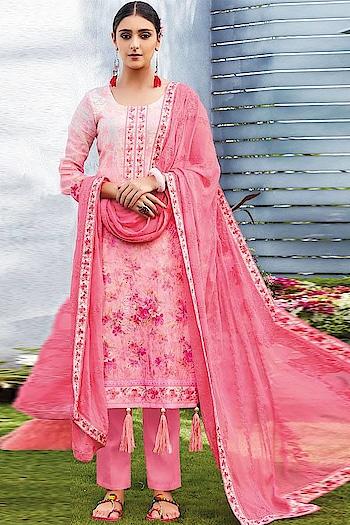 Summertime Saga ! Shop this Lovely #pink Straight Cut Suit @ https://goo.gl/WvsaFV #newarrivals #shoponline #summercollection #jinaam #manndola #digitalprint #digitalprinted #summerhues #ootd #sneakpeek #summerwear #bakraeid #bakraeidsale #eidsale #indianfashion #USA #India #Canada #Australia #Dubai #UAE #Mauritius #London #Uk #shopnow