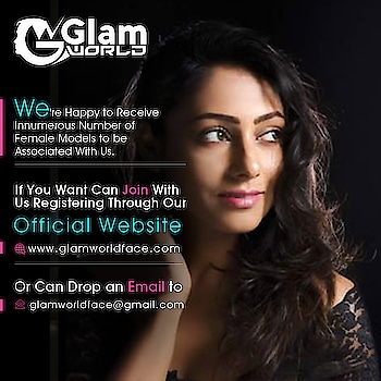 We're happy to receive innumerous number of Female Models & actress to be associated with us. If you want can join with us registering through our official website http://www.glamworldface.com/ or can drop an email to glamworldface@gmail.com. We will contact soon. #Glam #GlamWorldFace #Model #FemaleModel#ModelPhotography #ModelPhotoshoot #ModelPortfolio #modelportrait #Femalemodelportrait #acress