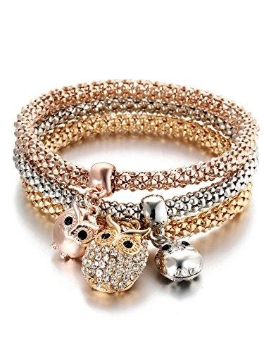 Stretchable Braclets Set of 3 Website Link- https://amzn.to/2zLOe7p . . . . . #bracelets #bracelet #gold # rosegold #silver#armcandy #armswag #wristgame #pretty #love #beautiful #braceletstacks #trendy #instagood #fashion #braceletsoftheday #jewelry #fashionlovers #fashionista #envywear #accessories #armparty #wristwear #accessory #instajewelry #stylish #cute #jewelrygram