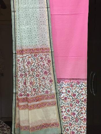 HAND BLOCK PRINTED PURE COTTON KURTA WITH BHAGALPURI LINEN DUPATTA.   #cotton #cottonlovers #printeddupatta #fabrichandicraftshandblockprinting #onlinedressmaterial #dupattasuits #womenclothing #fashion-style #summer-looks #newarrivals #linen #cambricunstiched #designersuits #casual-clothing #bhagalpurisuits #unstitchedsuits #kurtisonline