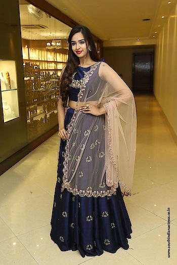 Pujita Ponnada at Trendz Expo inauguration at Taj Krishna https://www.southindianactress.co.in/telugu-actress/pujita-ponnada/pujita-ponnada-trendz-expo-inauguration/  #pujitaponnada #southindianactress #teluguactress #tollywood #tollywoodactress #indianactress #indianmodel #indiandress #indiangirl #lehenga #bluelehenga #navyblue #fashion #style #styles #indiandress #indianstyle #beautifulgirl