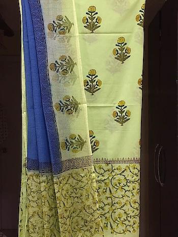 Cotton Cambric Hand Block Printed Kurta with Block Printed Pure Kota Doriya Dupatta.   #cotton #cottonlovers #printeddupatta #fabrichandicraftshandblockprinting #onlinedressmaterial #dupattasuits #womenclothing #fashion-style #summer-looks #newarrivals #linen #cambricunstiched #designersuits #casual-clothing #bhagalpurisuits  #unstitchedsuits #kurtisonline