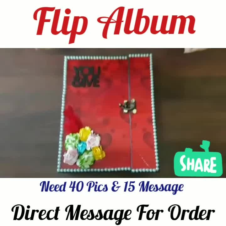 Love💖Flip Album😘🎁 ❣️ Need 40 Pics and 15 Message Offer Price available for Limited Time ❣️❣️❣️❣️ Direct Message For Order @photo_art_store @gifts_shopping_time  @gift_online_store  @personalized_magazine Special🎁🎁🎁🎁🎁😘 😍SPECIAL PERSON😍 Keep Ordering😍😍 Birthday Couple Friendship Family Anniversary 😍😍 😍 DM for Order . #surprises #specialgift #happybirthday #birthdaygift #birthdaygifts #customisedgifts #uniquegifts #giftsforher #giftsforhim #giftsforcouple #personalisedcards #greetingcards #mosaicstories #colorful#memories #moments #friends  #birthday #anniversary #weddings #gifts #customized #personalized  #photo_art_store #gifts_shopping_time  #gift_online_store  #personalized_magazine