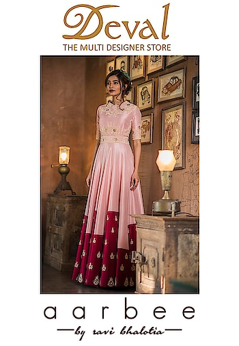 ✨Aarbee by Ravi Bhalotia   Deval The Multi Designer Store!!!✨ A blend of traditional with contemporary silhouettes in pretty Festive colors with intricate embroidery curated LFW-18 Occasion Wear, just perfect for destination weddings! For more details please whatsapp us +91 98984 22000 #designercollection #devalstore #ahmedabad #weddingcollcetion #occasionwear #festive #festivecolors