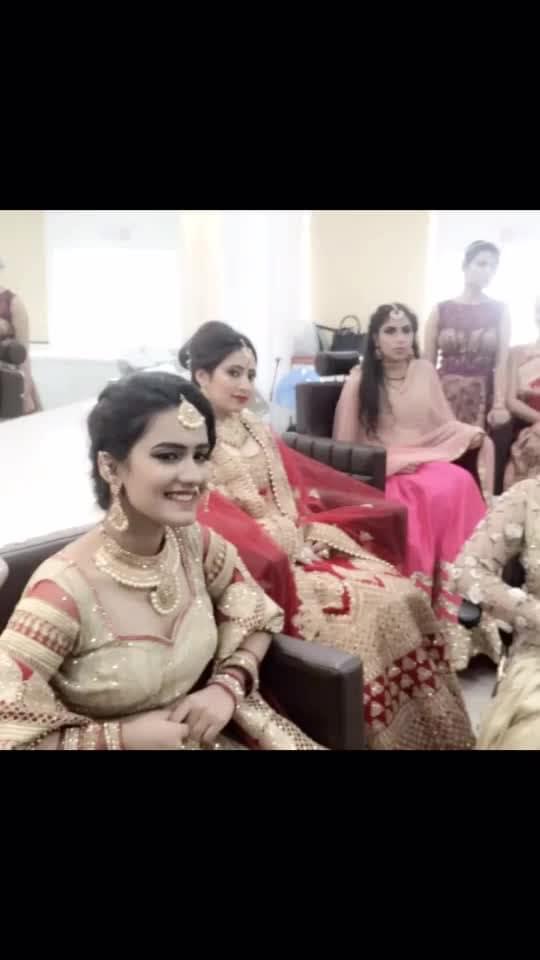#makeupartistworlwide #makeupartistindia #indianbride #bridal-makeup #studentcreationwork #photo-shoto #maclove #proudmoment