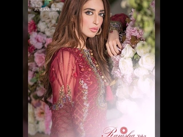 💕 *#RAMSHA VOL 2*💕 *EID FESTIVE COLLECTION 18* *Super Hit Designs*                👇🏻Fabric details 👇🏻  👗 Top : GEORGETTE WITH HEAVY EMBROIDERY AND ADDITIONAL HANDWORK IN ALL PCS  👖Bottom   : HEAVY SANTOON  🌹INNER- HEAVY SANTOON   🔺Dupatta : NAZNEEN CHIFFON EMBROIDERED DUPATTA  NOTE : HEAVY ADDITIONAL WORK IN ALL PCS  Set Price : 1249+ Gst  Dispatch: Ready 💯 Whatsap on.  +918879845751. +919029093762  Whatsapp maysa collections directly from here.. https://api.whatsapp.com/send?phone=918879845751  Also Join our below networks free for getting latest updates.  Hello, thank you for your valuable message to MAYSA COLLECTIONS.  Will get back to you soon..   FACEBOOK  https://www.facebook.com/maysacollections  YOU TUBE  https://www.youtube.com/channel/UCWAOvQymcY3bTdp_0jFiuzA?sub_confirmation=1  TELEGRAM https://t.me/maysacollections  INSTAGRAM https://www.instagram.com/maysacollection6125  ROPOSO https://www.roposo.com/profile/maysacollection/18166642-9884-481a-ad55-8efb727cb4c