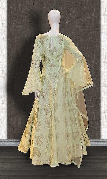 Green Chanderi Anarkali Suit http://www.khojkaladesign.com/bollywood-style/green-chanderi-anarkali-suit.html  • Designer Party Wear Salwar Suit • Fabric : Chanderi • Dupatta Fabric : Net • Inner/Bottom Fabric : Chanderi • Size : Semi-Stitched (customizable Upto size-44)  SKU: KHOJ7293 ₹5,544   #womenfashion #indianwomen #ethnics #fashion #salwarkameez #mydress #womenfashion #weddingsuitsdesigner #designersuits  #salwarkameez #casualsuit #straightsuit #anarkali #sharara #lehenga #casualwearsalwarkameez #Casualsalwarkameez #Partysalwarkameez #summer_fashion #summer #designerwear #partywears #heavyembroideredsuits #wedding #marriage #ceremony #bridaldresses #instastyle #khojkala