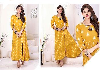 Vibrant Printed Cotton Ready To Wear Stylish Kurti...😍😍 Price:- 1750/- To Order Whats-app us (+91) 8097909000 * * www.nallucollection.com * * #kurtis #kurti #onlineshop #onlinekurtis #kurtisonline #dress #indowestern #ethnicwear #gowns #fashion #ethnic #flaredkurtis #anarkalikurtis #womenwear #style #love #socialenvy #beautiful #Longkurtis #outfit #online-shopping