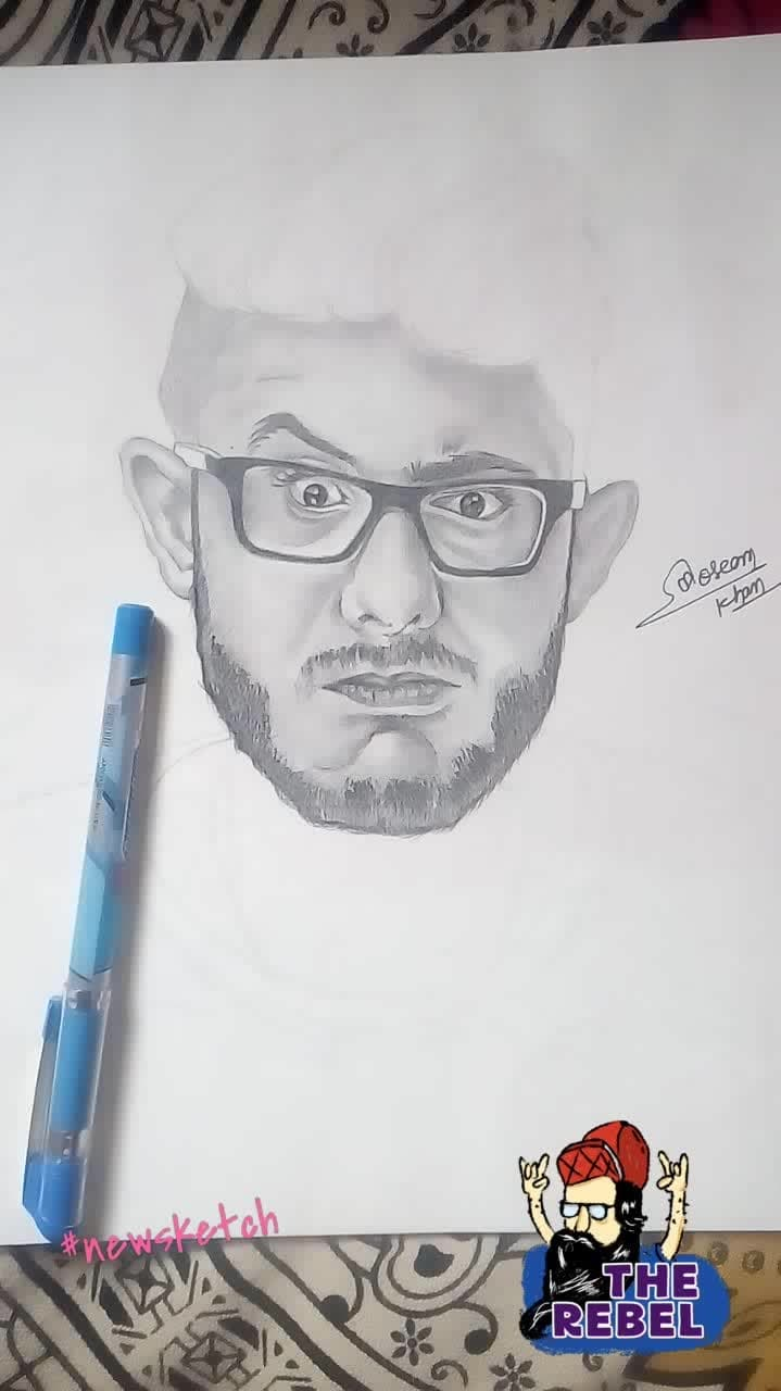 #carryminati #draw  #drawing  #painting  #colors  #painting  #toptags   #drawings #sketch  #drawn #disegno  #beauty  #desenho  #sketchbook  #like  #artlovers  #illusration   #ig_artistry #sketch_daily #igers  #illustration  #artistic_share #art_we_inspire #artwork  #creative  #instaart  #artist  #art  #artsgram  #therebel
