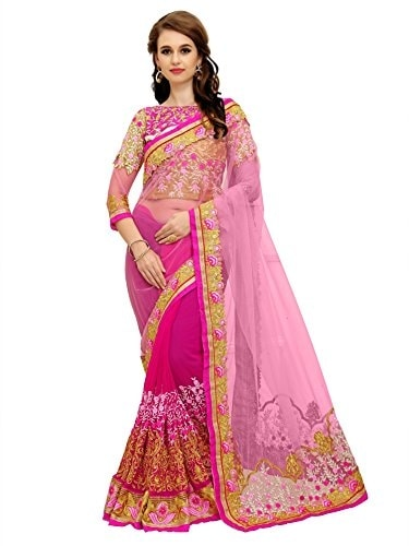 Saree Center Women Georgette #Saree With #Blouse @ Rs.999. Buy Now at http://bit.ly/2LrhZ2d