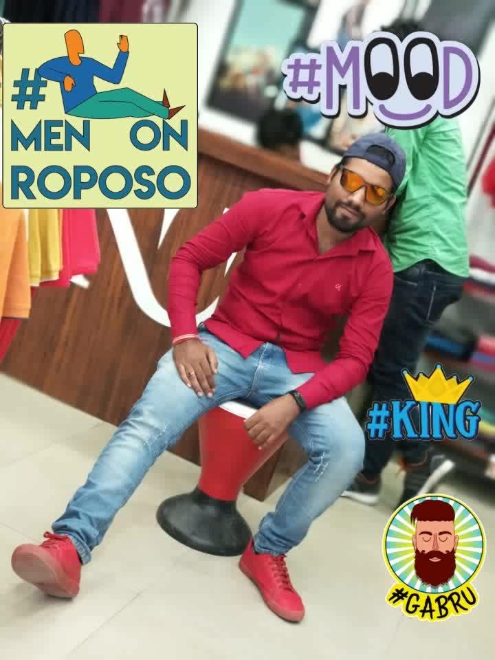 #hello2018 #roposofriends #roposo-fashiondiaries #roposofamily #summer-style #wowlooks #swaggerboy #desijaat #sonipat #haryana #gabru #king #menonroposo #mood