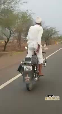 Wow.. Stunts of Uncle #thuglife