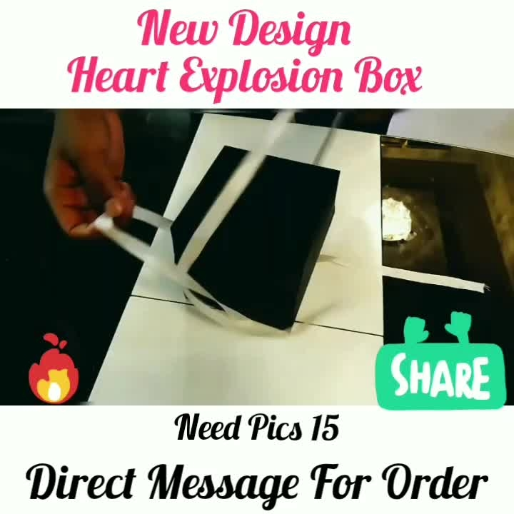 Love💖Explosion Box😘🎁 ❣️ Need 15 Pics Offer Price available for Limited Time ❣️❣️❣️❣️ Direct Message For Order @photo_art_store @gifts_shopping_time  @gift_online_store  @personalized_magazine Special🎁🎁🎁🎁🎁😘 😍SPECIAL PERSON😍 Keep Ordering😍😍 Birthday Couple Friendship Family Anniversary 😍😍 😍 DM for Order . #surprises #specialgift #happybirthday #birthdaygift #birthdaygifts #customisedgifts #uniquegifts #giftsforher #giftsforhim #giftsforcouple #personalisedcards #greetingcards #mosaicstories #colorful#memories #moments #friends  #birthday #anniversary #weddings #gifts #customized #personalized  #photo_art_store #gifts_shopping_time  #gift_online_store  #personalized_magazine