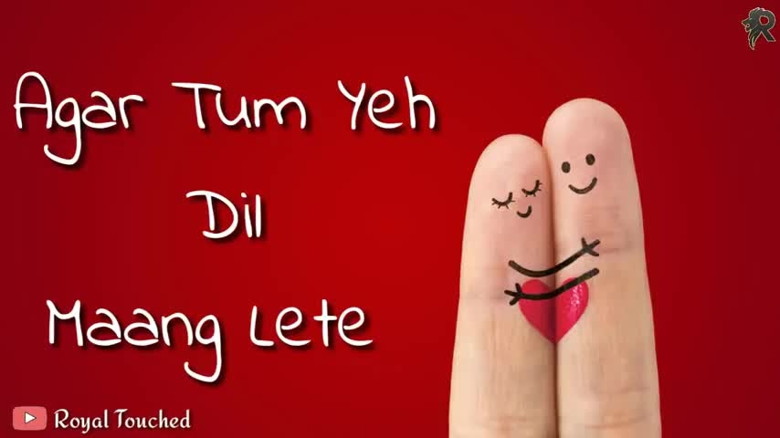 #agar #tum ye #dil #mang lete #love #breakup #bollywood #song #sanam puri #mashup #couple #nevergiveup #gf #bfstatus #matchup #heartouching