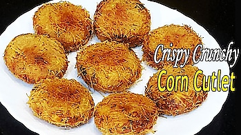 Let's Learn How To Make Crispy and Tasty Corn Cutlet Recipe Today.. #ropo-love #ropo #roposo #ropo-post #ropo-video #ropo-foodie #food #foodiesofindia #foodlover #snacks #snack #breakfast #breakfasts #breakfasttime #crispyfood