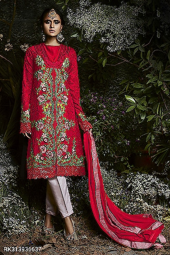 """Sringaar  Georgette Designer Embroidered Salwar Suits Collection.....  15% Flat Discount Using this Coupon Code """"SRIND15""""  *Min purchase 4000 Rs.  Book Your Order Now  http://www.sringaar.com/SearchProduct.aspx?q=rk3139  WhatsApp No : +91-9971331899 Contact us : +91-9212337921 Email ID : sales@sringaar.com  #SringaarFashion #Sringaar #EthnicFashion #Fashion"""