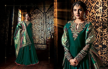 Occasional Wear Heavy Embroidery Anarkali Suits with Beautiful Dupattas...😍💗😍 Price:- 2999/- To Order Whats-app us (+91) 8097 909 000 * * www.nallucollection.com * * #banasaridupatta #dupattas #longsuits #anarkalisuits #picoftheday #style #bestoftheday #love #designersuits #printedsuits #salwarsuits #beauty #onlineboutique #womenclothing #clothingboutique #womenwithstyle #faahionstyling