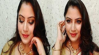 Indian Wedding Get Ready with Me | Guest Makeup look1 | Anusha Beauty 2018 #indianweddingmakeup #weddingmakeup #partymakeup #eyemakeup #facemakeup #makeuptutorial #simplemakeup #easymakeup #makeup #bridal-makeup #wedding-makeup #makeup #bangali makeup  #cosmetic #lipstick  #festive makeup