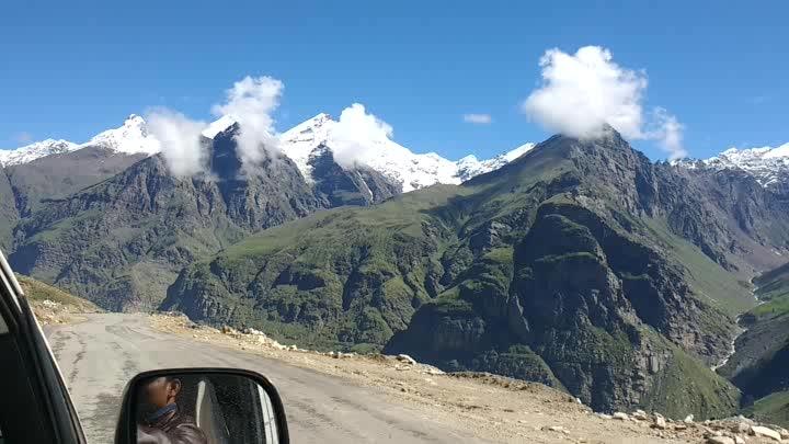 Now this is called beauty ❤️ #himachalpradesh #rohtangpass #beautuful #nature #heavenonearth