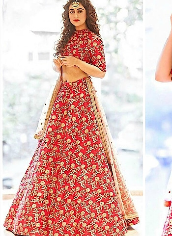 """As Shaadi season steps in, so does the #luxury fabric #silk! Choose #lehengas in this to express grandeur and style weaved into one.  Check the collection of bridal lehengas out at - <a href=""""https://www.bigbindi.com/lehenga"""">https://www.bigbindi.com/lehenga</a>  #shaadi #bridal #wedding-bride #brides #bridesofindia #bridetobe #wedding-bride #lehenga #lehenga-for-wedding #bridal-lehenga #pink #pinklehenga #silklehenga #pinklovers"""