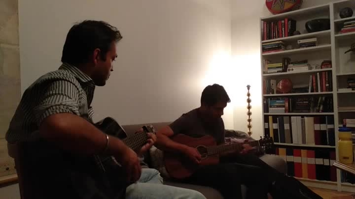 """#revisiting  an#old #song  #from #college #day  """"#Landed Shudhum Mon""""with Amaizing #Shonit Bagchi &#Anujith Sarikar. #jamming #isfun #straight #out of the #jamming  #pot #beautiful-life #bengali #bangla-beuty #song #sweden."""