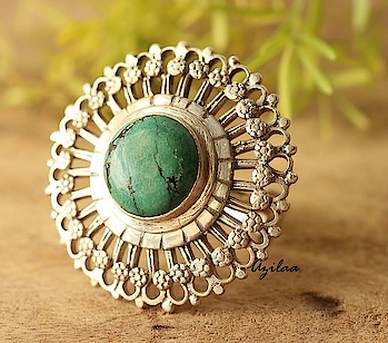 Statement ring! Create a bold look!! #myazilaa #azilaa #jewellery #ethnic #ring #boho #statement #silver #handmade #artisan #college  #shaadiseason #indianwear