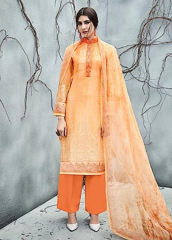 Summertime Saga ! Shop this Lovely #orange Straight Cut Suit @ https://goo.gl/PTWie3 #newarrivals #shoponline #summercollection #jinaam #manndola #digitalprint #digitalprinted #summerhues #ootd #sneakpeek #summerwear #eidsale #bakraeid #bakraeidsale #jashneeid #indianfashion #USA #India #Canada #Australia #Dubai #UAE #Mauritius #London #Uk #shopnow