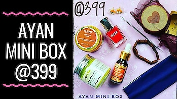 Ayan Mini Box @399 | Unboxing & Review  July Ayan Box is an absolute value for money deal! It contains skincare, body care, haircare, makeup, jewellery, lifestyle & accessories at an affordable price tag of just Rs. 399! . . . The star product of this edition is the Plump Brightening oil in my opinion. 👌 Watch the full unboxing & review video on my channel (link in bio) to know all details. Hope you will like it!❤ . . . . To order :  Instagram DM - https://www.instagram.com/adivayan_lifestyle/ Or WhatsApp - 9137690228 . . #ayan #ayanminibox #adivayanlifestyle #ayanmini #july #monthlysubscription  #beautybox #organic  #fullsized   #beautysubscription #haircare #bodycare #makeup #lifetsyle #skincare #jewellery #honestreviews #monthlysubscription #unboxingandreview #youtuber #subscriptionreviews #subscriptionboxindia #subscriptionboxreview #sonammahapatra