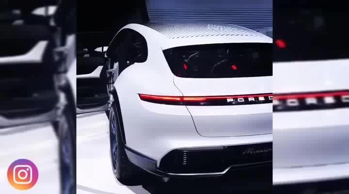 Porsche Mission E Gran Turismo Taycan. #car #cars #technology #auto #porsche #digi