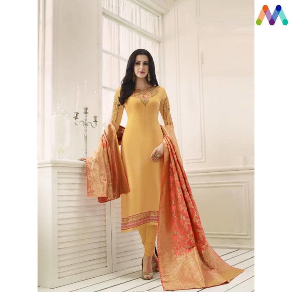 Fresh Arrival ! Shop this Lovely #orange and #yellow Straight Cut Suit with #banarasidupatta @ https://goo.gl/3hTMfo #newarrivals #shoponline #Salwarsuit #salwarsuitonline #manndola #georgette #digitalprinted #partywear #eidsale #bakraeid #bakraeidsale #ramadankareem #ootd #sneakpeek #summerwear #indianfashion #USA #India #Canada #Australia #Dubai #UAE #Mauritius #London #Uk #shopnow